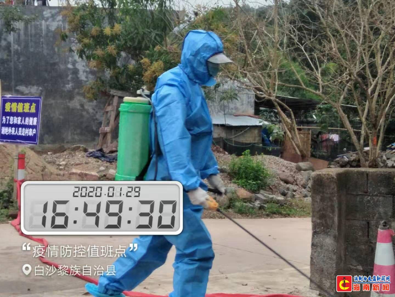 """打通乡村防疫 """"最后一公里"""" 海南海事局驻村工作队在行动"""